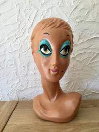 Mannequin hoofd Twiggy