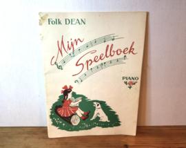 Folk Dean liedjesboek voor piano