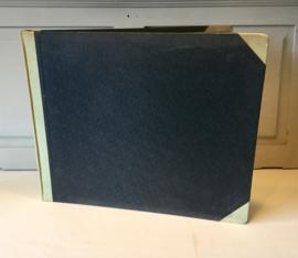 Oud register boek van SVH