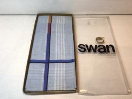 Swan vintage zakdoeken