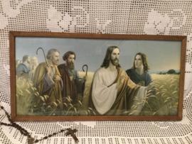 Prent, Jezus in het veld