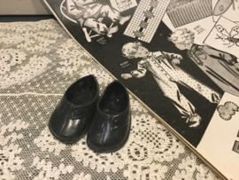 Zwarte poppenschoentjes 31