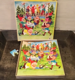 Kabouter puzzel 30 stukjes, hout