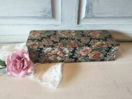 Vintage stoffen dozen