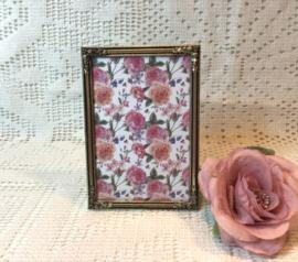 Fotolijstje met roosjes