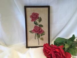 Borduurwerk, rozen