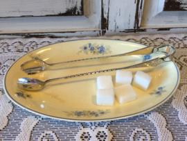 Verzilverde suikertang