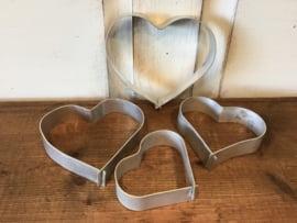 Uitsteekvormpjes hartjes