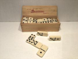 Witte domino stenen