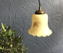 Glazen hanglampje
