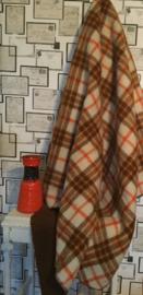 Vintage wollen deken van Real