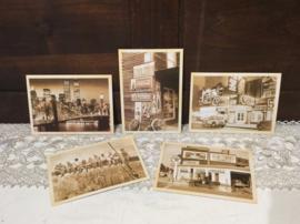 5 nostalgische kaarten Amerika (nieuw)