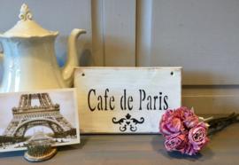 Tekstbord Cafe de Paris
