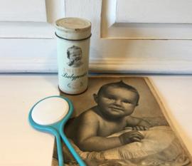 Oud blikje Zwitsal babypoeder