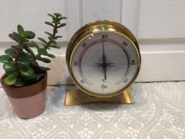 Barometers, thermometers