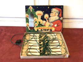 Oude kerstboomverlichting