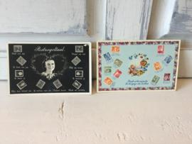2 kaarten jaren 60