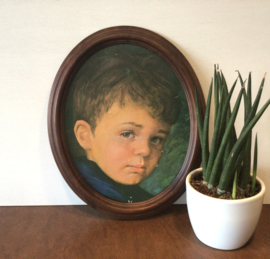 Giovanni Bragolin, jongetje met traantje