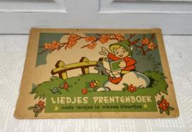 Oud liedjes prentenboekje