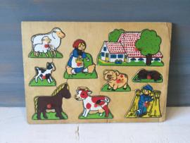 Boerderij knopjes puzzel