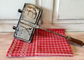 Vintage tosti ijzer