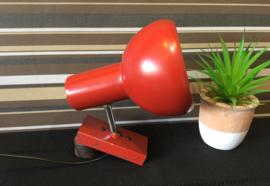 Rood retro lampje