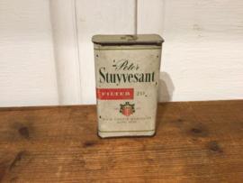 Oud blikje van Stuyvesant
