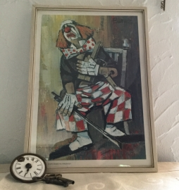 Burnett, the clown