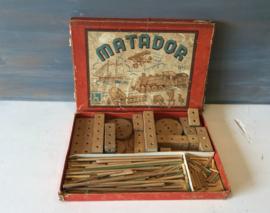 Matador houten bouwblokjes