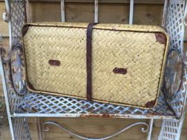 Manden en koffers