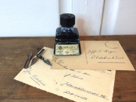 Antiek flesje inkt van Gimborn