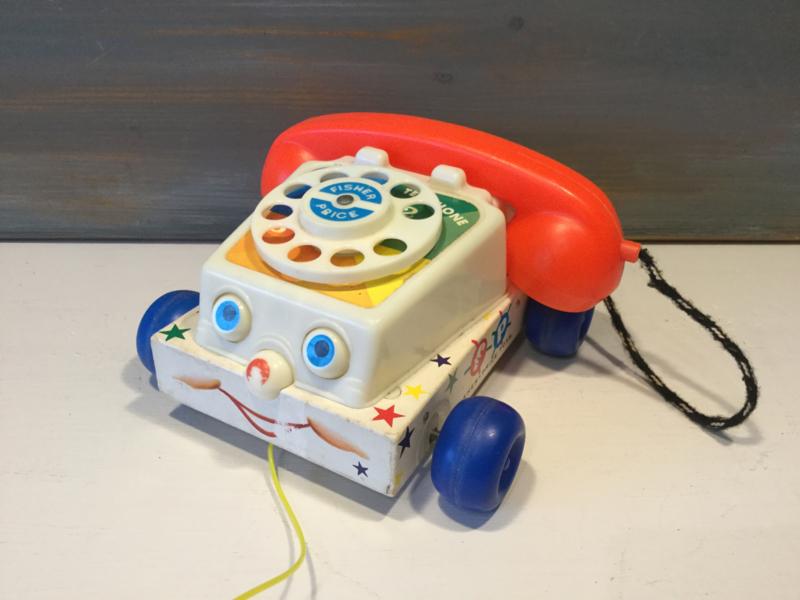 Fisher Price telefoon 1961