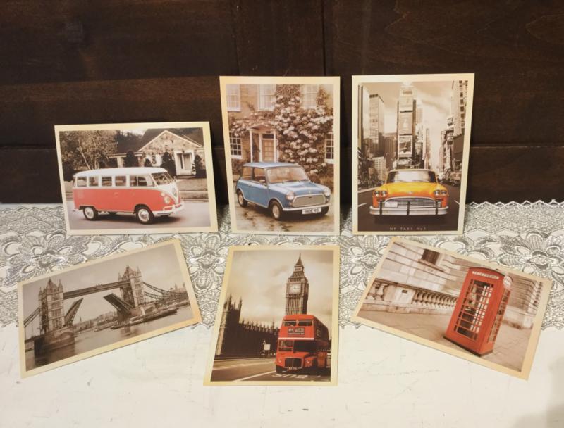 Nostalgische kaarten  (nieuw)