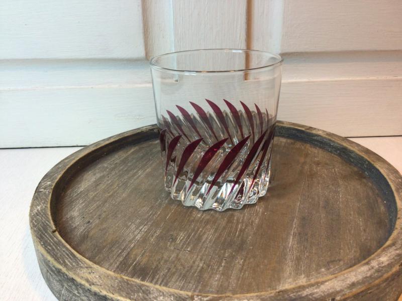 Boheems kristal glas