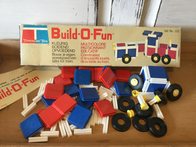 Build-O-Fun van Tupperware