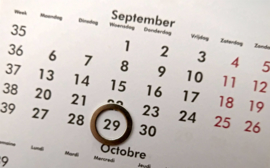 Reservatie woensdag 29/09/2021