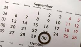 Reservatie donderdag 30/09/2021