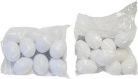 Plastic/zware eieren