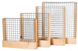 Roosters - hout/metaal