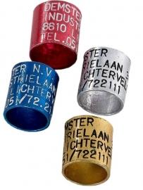 Aluminium telefoonring - 10 mm