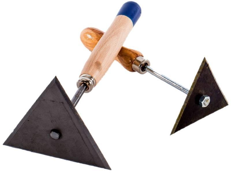 Dreikantschaber