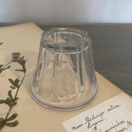 OV20110492 Oude Franse mondgeblazen confiturepot in perfecte staat! Afmeting: 7,5 cm. hoog / +/-  9 cm. doorsnede.