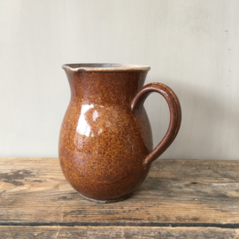 AW20110481 (C) Late 19th century French chocolate jug with beautifull crackled inside in very beautiful condition! Dimensions: 16.5 cm. high / 10.5 cm. section.