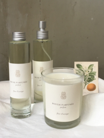 Fleur d'Oranger. Orange blossom, fresh and soothing at the same time