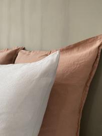 Couleur Chanvre kussenslopen gemaakt in Frankrijk vervaardigd uit 100% Frans ecologisch hennep, vanaf