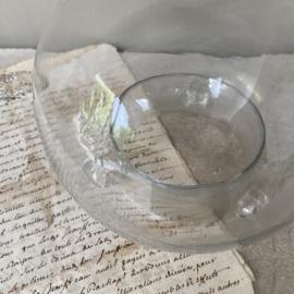 OV20110514 Antieke Franse mondgeblazen wespenvanger in prachtige staat! Afmeting: +/- 22 cm. hoog