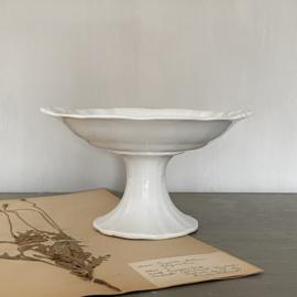 AW20110862 Oude fruitschaal stempel - Societé Céramique Maestricht - periode:  1900-1957 in prachtige staat! Afmeting: 13 cm. hoog / 23,5 cm/ doorsnede