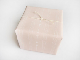 Inpakpapier Pijlen en triangels