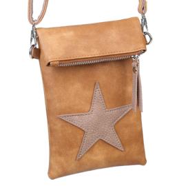 Flip top Bag Star Bruin