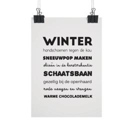 Kaart Winter